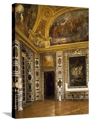 Salon of Diana, Palace of Versailles, France--Stretched Canvas Print