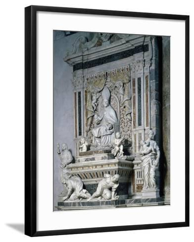Funeral Monument of Monsignor Pietro Galletti, Catania Cathedral, Sicily, Italy--Framed Art Print