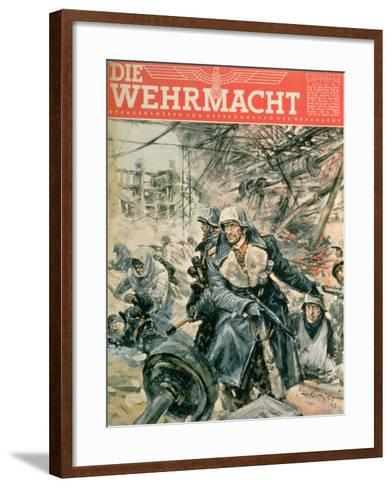 Front Cover of 'Die Wehrmacht', March 1943--Framed Art Print