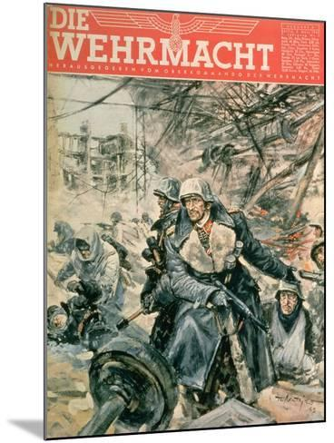 Front Cover of 'Die Wehrmacht', March 1943--Mounted Giclee Print