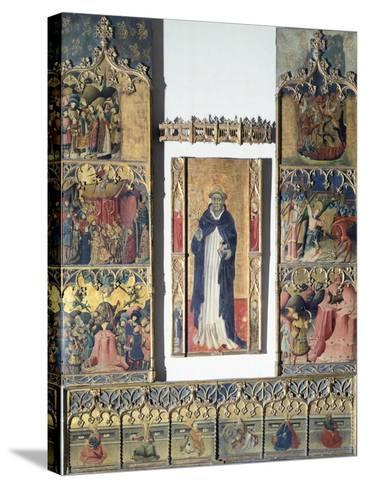 Altarpiece of San Michele--Stretched Canvas Print