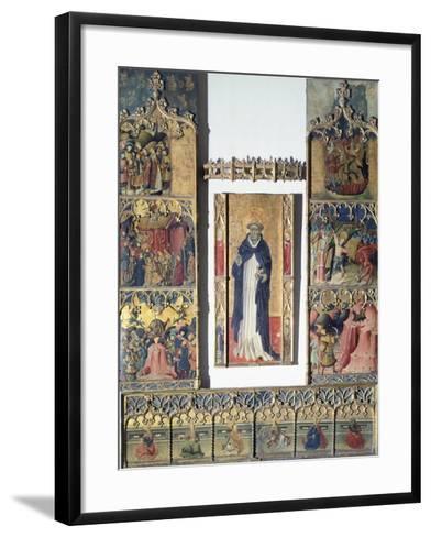 Altarpiece of San Michele--Framed Art Print