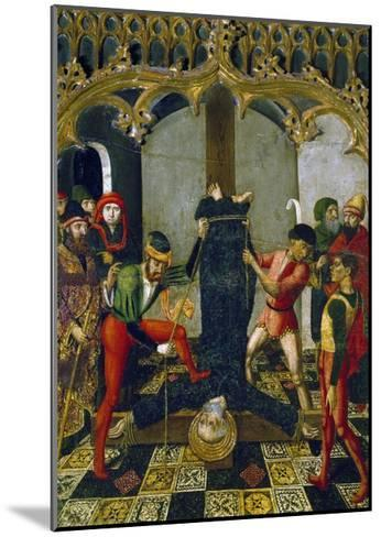 Saint Peter's Crucifixion, 1500, Detail from Retable--Mounted Giclee Print