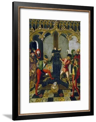 Saint Peter's Crucifixion, 1500, Detail from Retable--Framed Art Print