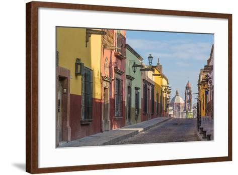 Mexico, San Miguel De Allende. Street Scene-Jaynes Gallery-Framed Art Print