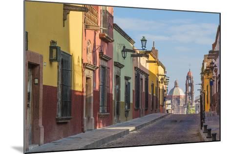 Mexico, San Miguel De Allende. Street Scene-Jaynes Gallery-Mounted Photographic Print