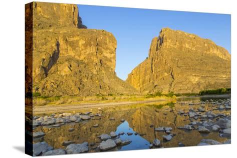 The Rio Grande River at Santa Elena Canyon, Big Bend NP, Texas, Usa-Chuck Haney-Stretched Canvas Print
