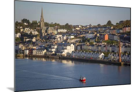 Fishing Boat Headed Out to Sea at Dawn, Cobh, County Cork, Ireland-Brian Jannsen-Mounted Photographic Print
