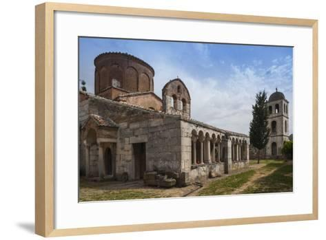 Albania, Fier, Ruins of Apollonia, Byzantine Monastery and Museum-Walter Bibikow-Framed Art Print
