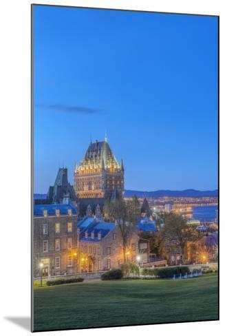 Canada, Quebec, Quebec City, Old Town at Twilight-Rob Tilley-Mounted Photographic Print