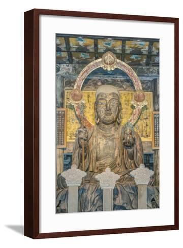 Japan, Kanagawa, Kamakura, Kenchoji Temple Buddha-Rob Tilley-Framed Art Print