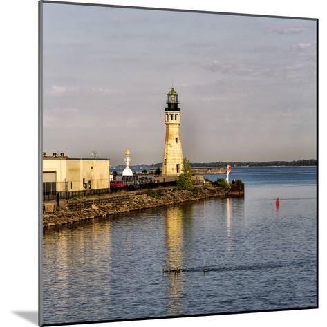 The Buffalo Main Lighthouse on the Buffalo River New York State-Joe Restuccia-Mounted Photographic Print