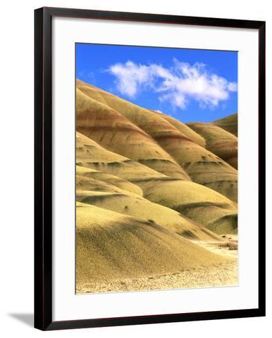 Painted Hills Unit, John Day Fossil Beds National Monument, Oregon-Howie Garber-Framed Art Print
