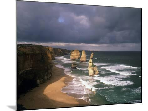 Australia, Port Campbell NP. Twelve Apostles Rock Formation-Howie Garber-Mounted Photographic Print