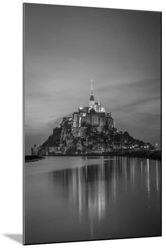 Twilight over Le Mont Saint Michel, Normandy, France-Brian Jannsen-Mounted Photographic Print