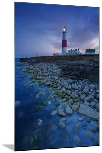 Portland Bill Lighthouse Near Portland, Dorset, England-Brian Jannsen-Mounted Photographic Print