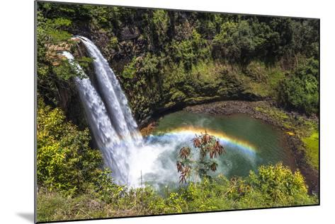 Wailua Falls and Scenery on the Hawaiian Island of Kauai-Andrew Shoemaker-Mounted Photographic Print