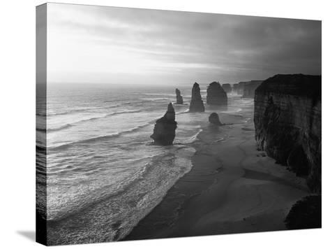 Australia, Victoria, the Twelve Apostles in Port Campbell NP-Greg Probst-Stretched Canvas Print