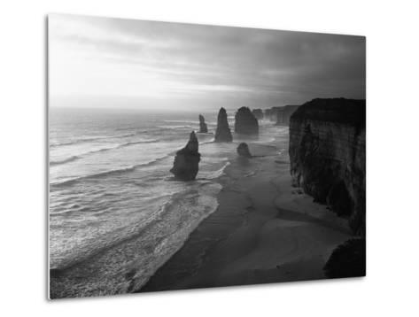 Australia, Victoria, the Twelve Apostles in Port Campbell NP-Greg Probst-Metal Print