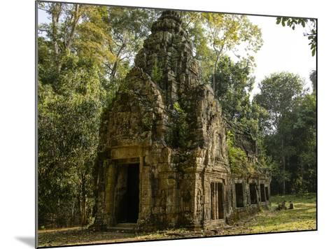 Cambodia, Angkor Wat. Small Temple-Matt Freedman-Mounted Photographic Print