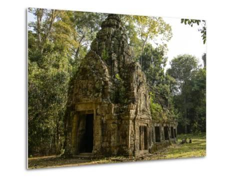Cambodia, Angkor Wat. Small Temple-Matt Freedman-Metal Print