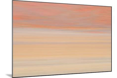 Africa, Namibia. Abstract of Heat Distorting Grassy Plain-Jaynes Gallery-Mounted Photographic Print