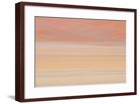 Africa, Namibia. Abstract of Heat Distorting Grassy Plain-Jaynes Gallery-Framed Art Print