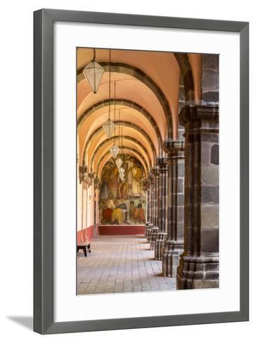 Institute of Art in San Miguel De Allende, Mexico-Chuck Haney-Framed Art Print