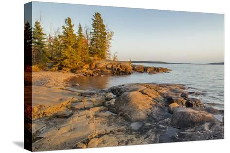 Canada, Ontario, Terrace Bay, Rainbow Falls Provincial Park-Frank Zurey-Stretched Canvas Print