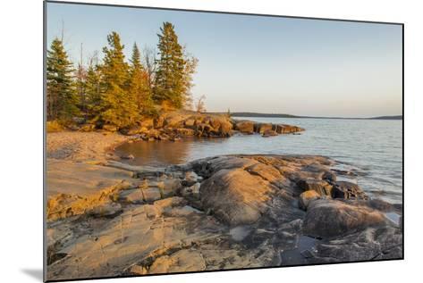 Canada, Ontario, Terrace Bay, Rainbow Falls Provincial Park-Frank Zurey-Mounted Photographic Print