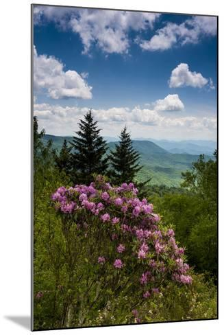 Cowee Mountain Overlook, Blue Ridge Parkway, North Carolina-Howie Garber-Mounted Photographic Print