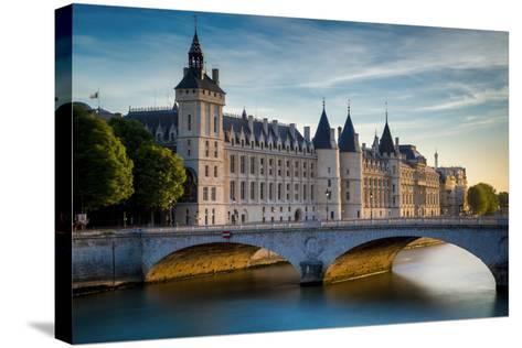 The Concierge, Pont Au Change and River Seine, Paris France-Brian Jannsen-Stretched Canvas Print