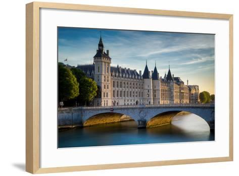 The Concierge, Pont Au Change and River Seine, Paris France-Brian Jannsen-Framed Art Print