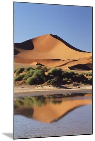 Namibia, Sossusvlei Region, Sand Dunes-Gavriel Jecan-Mounted Photographic Print