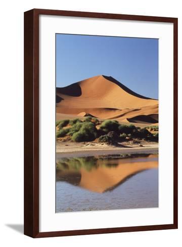 Namibia, Sossusvlei Region, Sand Dunes-Gavriel Jecan-Framed Art Print