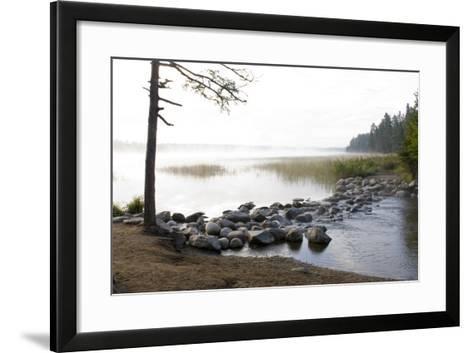 USA, Minnesota, Itasca State Park, Mississippi Headwaters-Peter Hawkins-Framed Art Print