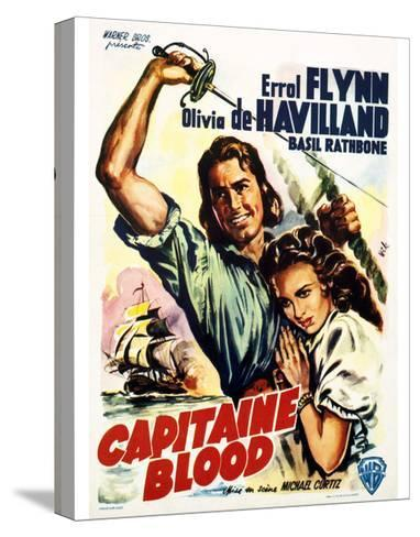 Captain Blood - Movie Poster Reproduction--Stretched Canvas Print