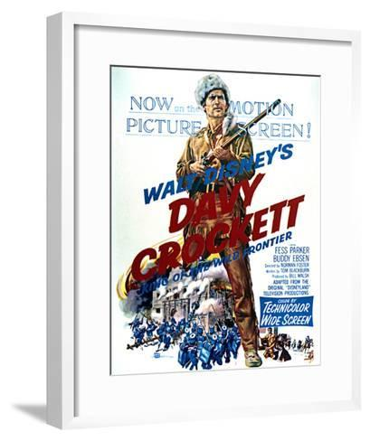Davy Crockett: King of the Wild Frontier - Movie Poster Reproduction--Framed Art Print