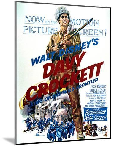 Davy Crockett: King of the Wild Frontier - Movie Poster Reproduction--Mounted Art Print