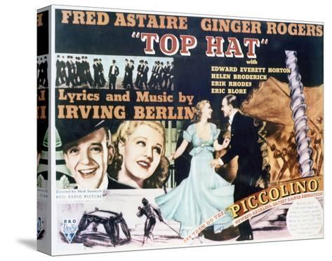 Top Hat - Lobby Card Reproduction--Stretched Canvas Print