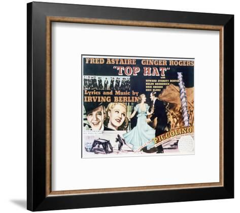 Top Hat - Lobby Card Reproduction--Framed Art Print