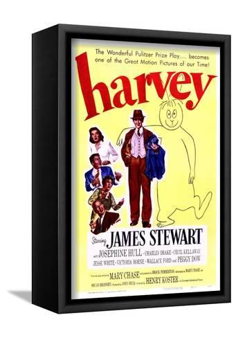 Harvey - Movie Poster Reproduction--Framed Canvas Print