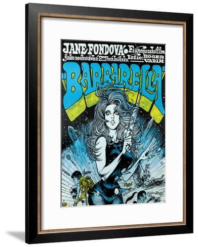 Barbarella - Movie Poster Reproduction--Framed Art Print