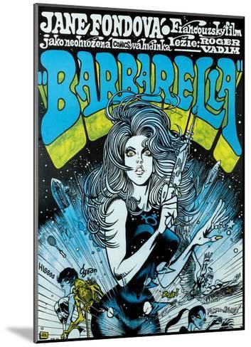 Barbarella - Movie Poster Reproduction--Mounted Art Print