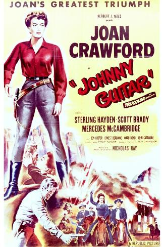 Johnny Guitar - Movie Poster Reproduction--Stretched Canvas Print