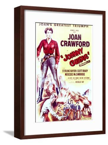 Johnny Guitar - Movie Poster Reproduction--Framed Art Print