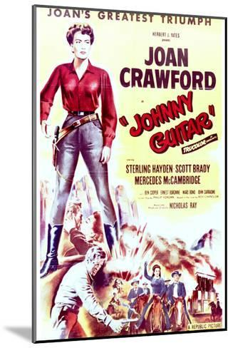 Johnny Guitar - Movie Poster Reproduction--Mounted Art Print
