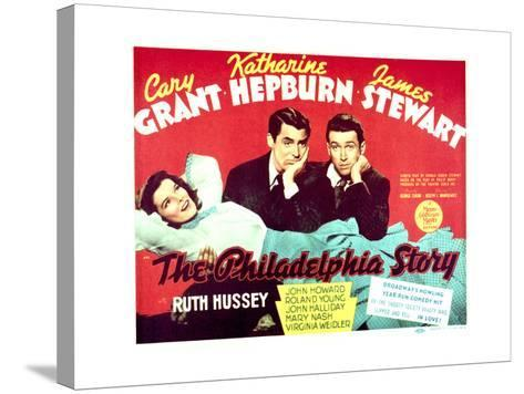 The Philadelphia Story - Lobby Card Reproduction--Stretched Canvas Print