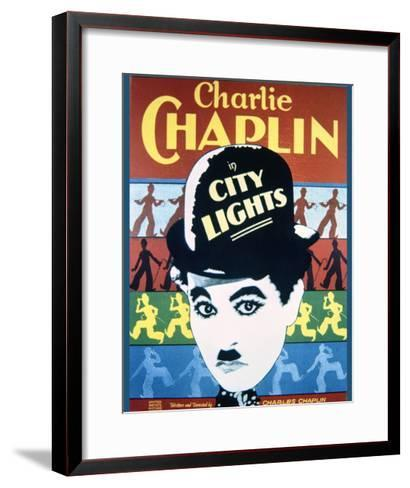 City Lights - Movie Poster Reproduction--Framed Art Print