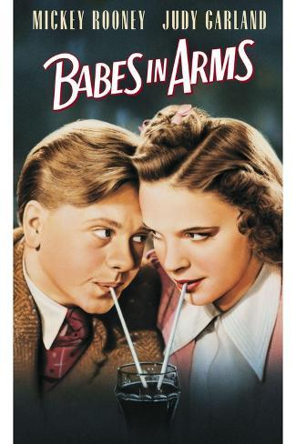 Babes in Arms - Movie Poster Reproduction--Stretched Canvas Print